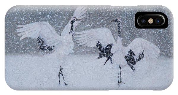 Snow Dancers IPhone Case
