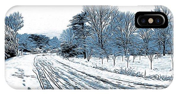 Ice iPhone Case - Snow Day by Greg Joens
