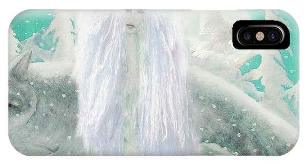 Snow Fairy IPhone Case