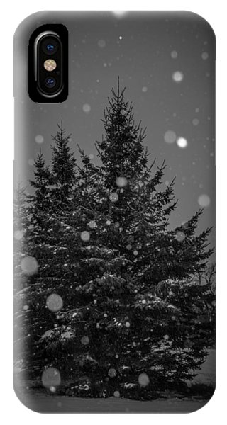 Snow Flakes IPhone Case