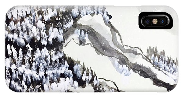 Snow Forest IPhone Case