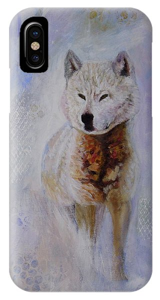 Snow Fox IPhone Case