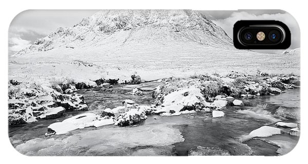 Snow In Glencoe IPhone Case