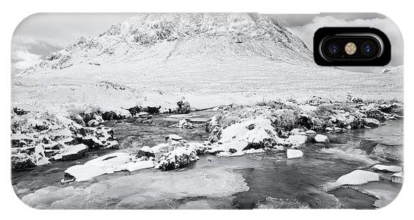 Snow In Glencoe IPhone Case