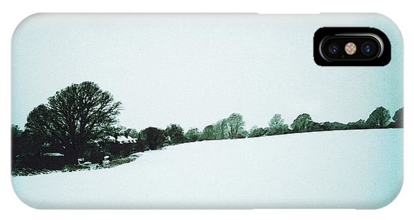 Snow In Sussex IPhone Case
