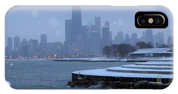 Snowy Chicago IPhone Case