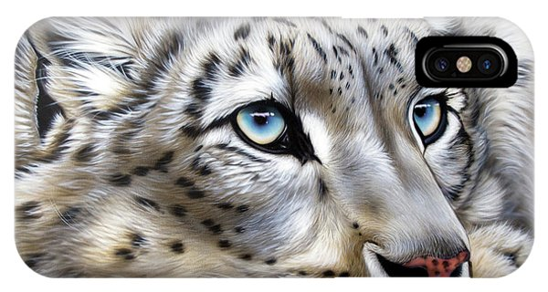 Snow-leopard's Dream IPhone Case