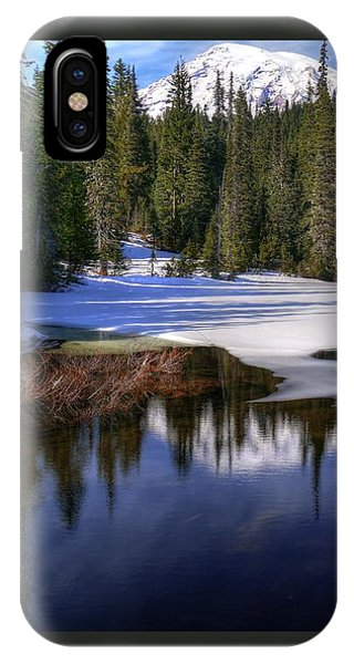 Snow-melt Revelations IPhone Case