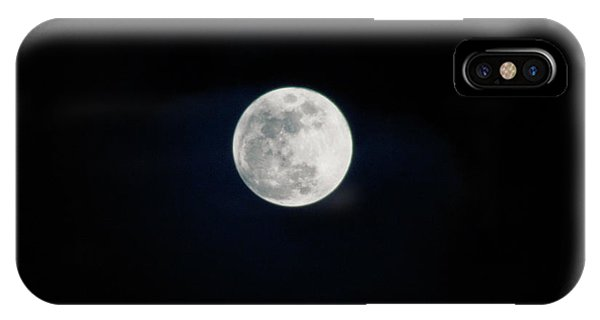 Snow Moon 4 IPhone Case