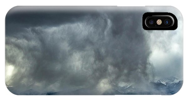 Snow On The Rockies IPhone Case