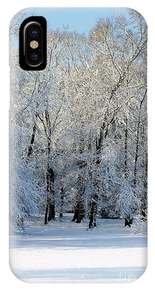 Snow Scene One IPhone Case