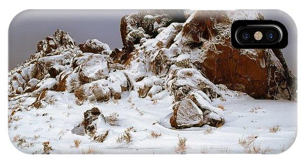 Snow Stones IPhone Case
