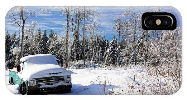 Snow Truck IPhone Case