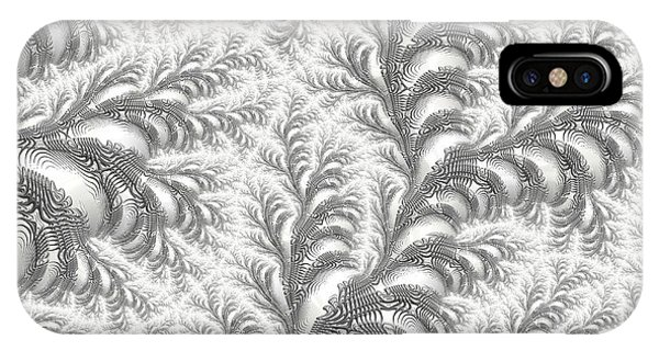 Snow Vines IPhone Case