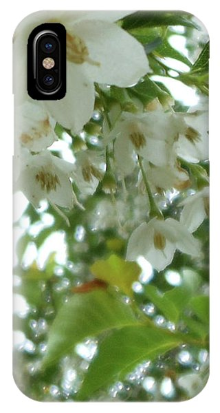 Snowbell Sparkles In Spring IPhone Case