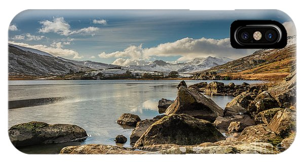 Snowdon From Llynnau Mymbyr IPhone Case