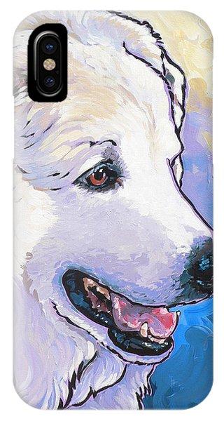 Snowdoggie IPhone Case