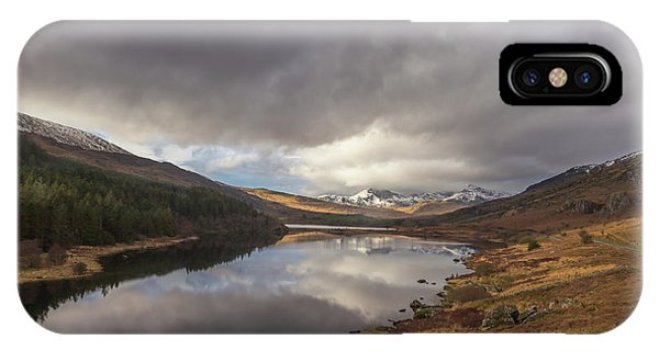 Snowdon Reflection IPhone Case