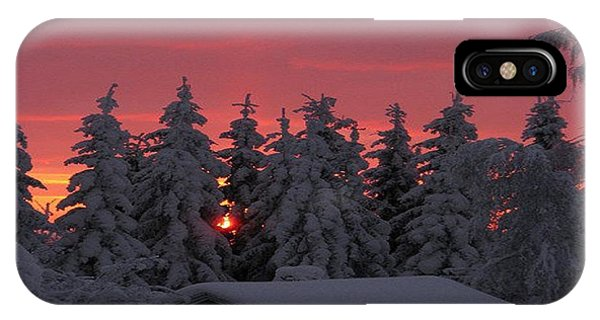 Snowed In IPhone Case