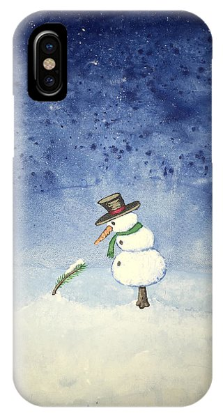 Snowfall IPhone Case