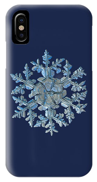 Snowflake Photo - Gardener's Dream IPhone Case