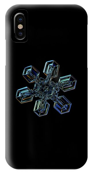 Snowflake Photo - High Voltage IIi IPhone Case