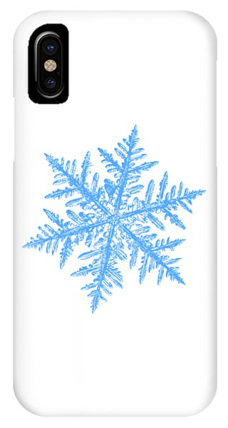 Snowflake Vector - Silverware White IPhone Case