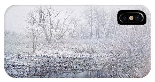 Snowmist Marsh IPhone Case