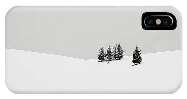 Winter iPhone Case - Snowscapes   Almost There by Ronny Behnert