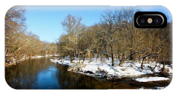 Snowy Creek Morning IPhone Case