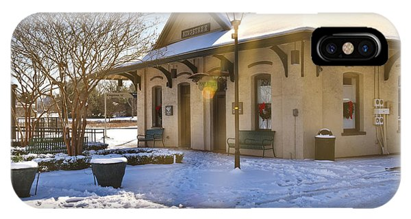 Snowy Depot IPhone Case