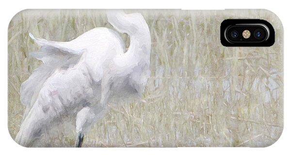 Snowy Egret IPhone Case