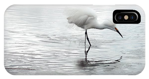 IPhone Case featuring the photograph Snowy Egrets by Tam Ryan