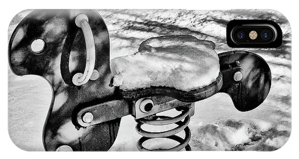 Snowy Playground IPhone Case