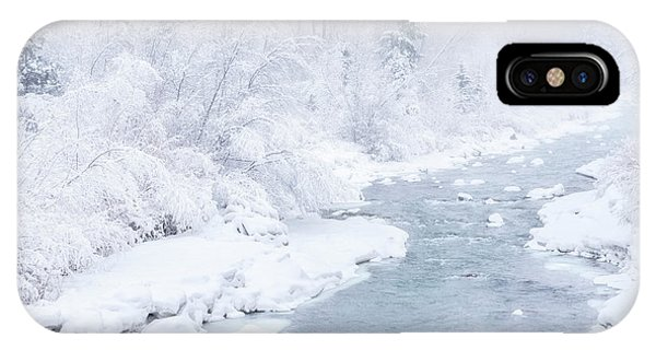 Snowy River IPhone Case