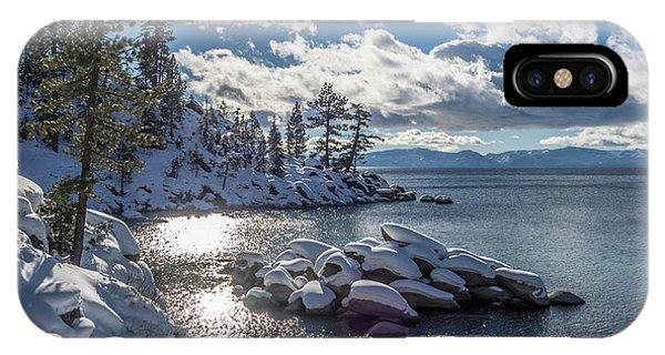 Snowy Tahoe IPhone Case