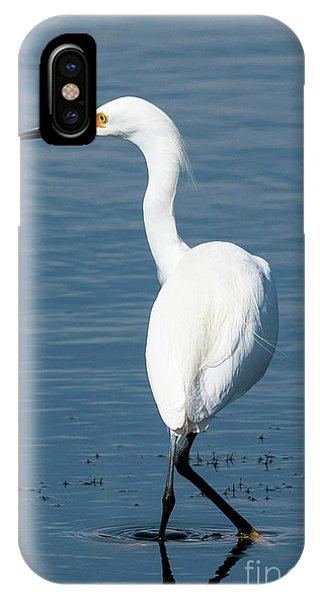 Snowy White Egret IPhone Case