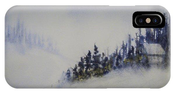 Snowy Winter IPhone Case