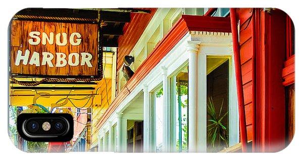 Snug Harbor Jazz Bistro- Nola IPhone Case