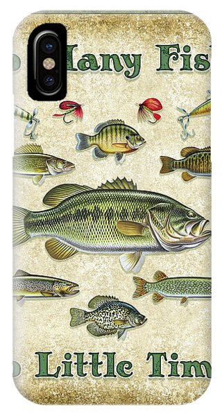 Trout iPhone Case - So Many Fish Sign by JQ Licensing