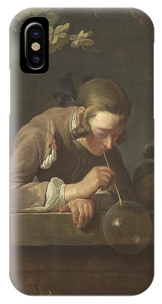 iPhone Case - Soap Bubbles by Jean Simeon Chardin