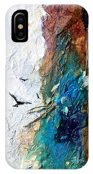 IPhone Case featuring the painting Soaring by Helen Harris