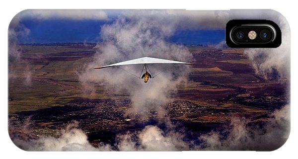 Soaring Through The Clouds IPhone Case