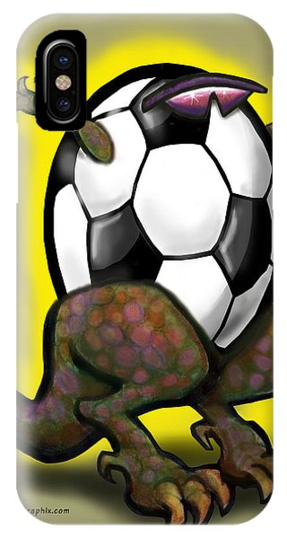Soccer Zilla IPhone Case