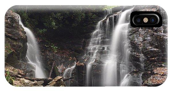 Soco Falls-landscape Version IPhone Case
