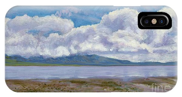 Soda Lake After The Storm IPhone Case