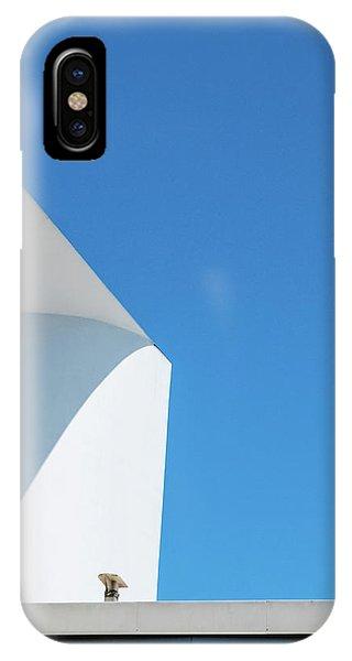 Soft Blue IPhone Case