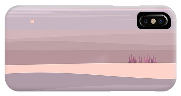 Soft Colored Landscape IPhone Case