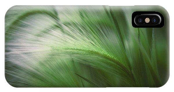 Grass iPhone Case - Soft Grass by Scott Norris