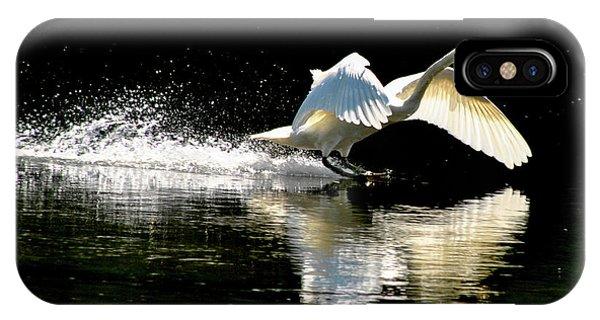 Water Ski iPhone Case - Soft Landing  by Joe Ormonde